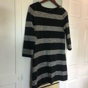 J. Crew Dresses - J Crew XS 3/4 Length Long Sleeved Dress